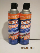 2 CUTTER BACKYARD BUG CONTROL WASP & HORNET KILLER 20 FOOT JET SPRAY KILLS-F/SHP