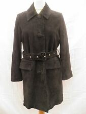 VALENTINO RED Ladies Navy Suede Jacket Coat Size Eur 42 UK 10 12 14 £900 New