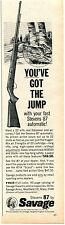 1965 Print Ad of Marlin Model 989 M2 Carbine & 99 M1 Carbine