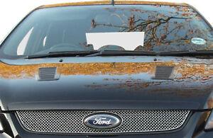 Ford Focus ST 08MY - Calandre supérieure - Finition argent (2008 à 2010)
