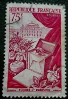 France:1954 Art 75 Fr.  Rare & Collectible Stamp.