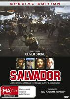 Salvador (DVD, 2016)Oliver Stone*R4*Terrific Condition*