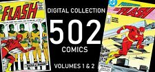 """ THE FLASH ""  IN DIGITAL - 502 COMICS"