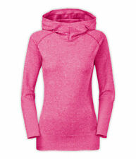 The North Face Womens Go Seamless Pullover Hoodie Orange/Pink Size S-L