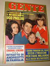 GENTE=1976/44=UGO PAGLIAI=TAGLIO CORELLI=SAN GEMINI CARSULAE=SKIROLLER=PAPATAKIS