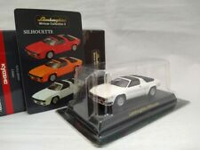 KYOSHO 1/64 Lamborghini Silhouette White Diecast Model Car F/Japan  F/Shipping