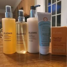 ELEMIS skin care lot of 5. Free shipping! Cleansers, toner, scrub, moisturizer