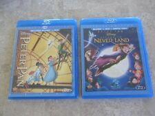 (2) Blu Ray - Peter Pan (Diamond Ed) & Return to Never Land - HTF Disney Vault