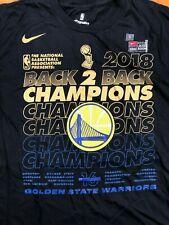 Golden State Warriors Nike 2018 NBA Finals Champions Locker Room Tee Men's 3XL