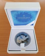 10 Yuan Panda - Deep Frozen Edition - Silber/Ruthenium/Platin/Eiskristalle - st.