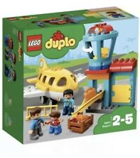 LEGO 10871 Duplo My Town Airport Building Set with Airplane Toy - New! Free Post