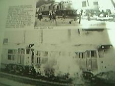 magazine picture 1978 locomotive catches fire west of hayes station