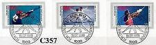 Berlin 1988: Olympia! Sporthilfemarken Nr. 801-803 mit Sonderstempeln! 1A! 1707