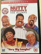 Eddie Murphy Janet Jackson NUTTY PROFESSOR II / 2 - THE KLUMPS   UK DVD