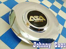 ASA Wheels by BBS Chrome Custom Wheel Center Caps #8B345 Center Cap (1)