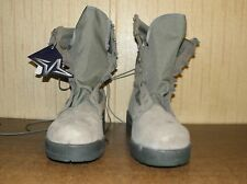 Wellco Safety Steel Toe Boot USAF P/N 1003 Size 13.5R Sage Green New in Box