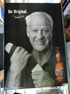 "WOW!! Detroit Red Wings COORS ""Be Original"" 2001 RARE 19""x27"" Poster GORDIE HOWE"