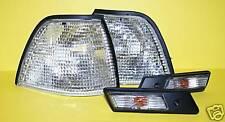 BMW 3 1991-96 E36 Corner Lights +Side Marker CLEAR SET