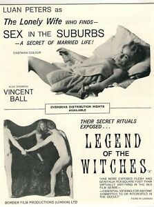 A4 Advert Sex in the Suburbs 1971 (Not Tonight Darling) & Legend of the Witches