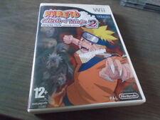 Jeu Wii Naruto : Clash of Ninja Revolution 2 complet