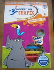 Hooked On Shapes Phonics Super Activity Kit with Dvd ~ Stickers & Coloring Book