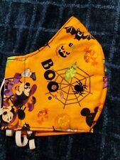 HANDMADE COTTON FACE MASK - Disney Mickey - Adult size fits most- Free Shipping