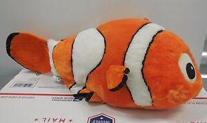"Disney Store Exclusive Finding Nemo 16"" Nemo plush toy Rare"