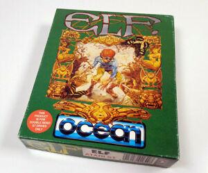 ELF by Ocean 1991 - Atari ST Spiel Big Boxed CIB OVP Komplett Sammler VGC sgZ