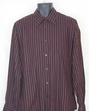 Men's EXPRESS Modern Fit French Cuff Button Front Shirt Size L 16-16.5