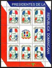 Dominican Republic - 2001 Presidents - Mi. 2040-47 MNH (small gum damage)