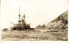 Lundy. Wreck HMS Montague Ashore Lundy Island May 30 '06 by Batten, Ilfracombe.