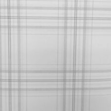 Grey Charcoal Check Wallpaper Tartan Checked Plaid Chequered Lined Feature Wall