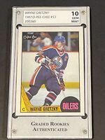 1987 O-Pee-Chee #53 Wayne Gretzky Gem Mint GRA 10 Gorgeous PSA ?