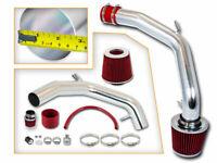 "2.75"" RED Cold Air Intake Kit + Filter For 99-05 Jetta/Golf 1.8L Turbo/2.0L L4"