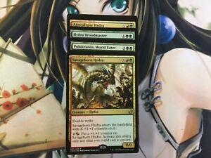 Hydra Ramp Deck - Gruul  MTG Magic the Gathering Many Rares 60 Card Deck RTP