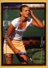 2002 Maria Sharapova SCi Sports Card Investor Gold Rookie