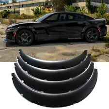 """3.5"""" 90mm Fender Flares Wide Body Kit Extensions Wheel Arches For Dodge Charger"""