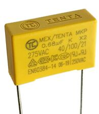 [2pcs] 0.68uF 275v, 680nF,  MEX X2 Safety Capacitor, pitch 15mm or 22mm –ref:A22