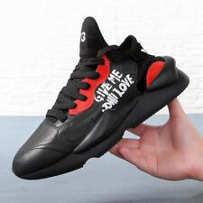 d53acf69455e 2019 Y-3 Kaiwa Yohji Yamamoto Light Weight Lace Up Men s Black Trainers  Shoes