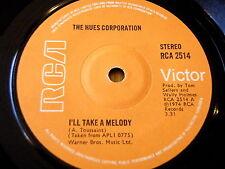 """Las tonalidades Corporation-voy a tomar una melodía Vinilo De 7"""""""