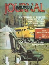 RAILMODEL JOURNAL 7/95 AUTO RACK CARS, B&O / CHESSIE GP35, MECHANICAL REEFERS
