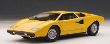 AUTOart 1/18 Lamborghini Countach LP400 (yellow)