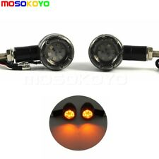 Universal Motorcycle Mini Bullet LED Turn Signals Light Running Stop Brake Light