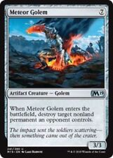 MTG x4 Meteor Golem Core Set 2019 M19 Uncommon Artifact Magic the Gathering NM/M
