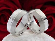 Unisex Modeschmuck-Ringe im Band-Stil aus Edelstahl