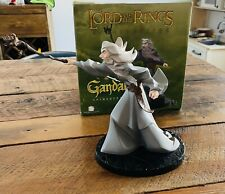 """Animated Gandalf 10"""" Maquette Statue Lord Of The Rings Gentle Giant New 414/1500"""