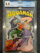 Aquaman #35- CGC 5.5 - Never Pressed or Cleaned - First Black Manta