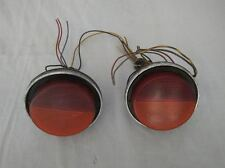 FIAT 850 SPORT COUPE SPIDER SEDAN BREAK SIGNAL LIGHT WITH ORIGINAL LOOM USED