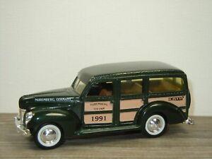 1940 Ford Woody Station Wagon Nuremberg Toy Fair 1991 - ERTL 1:43 *52470