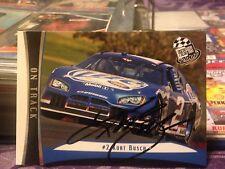 Kurt Busch Autograph NASCAR Card
